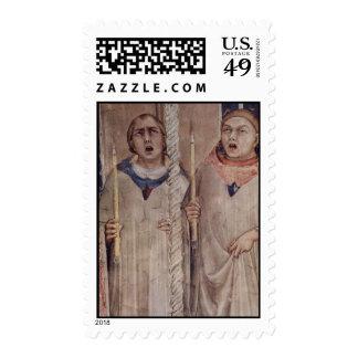 Simone Martini Art Postage Stamps
