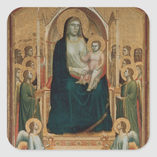 Simone Martini Art Square Sticker