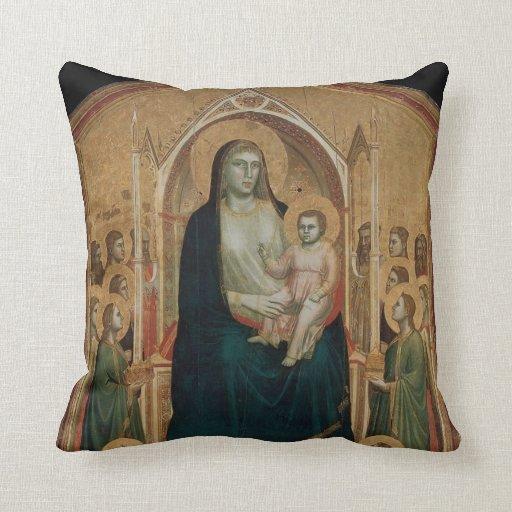 Simone Martini Art Throw Pillows