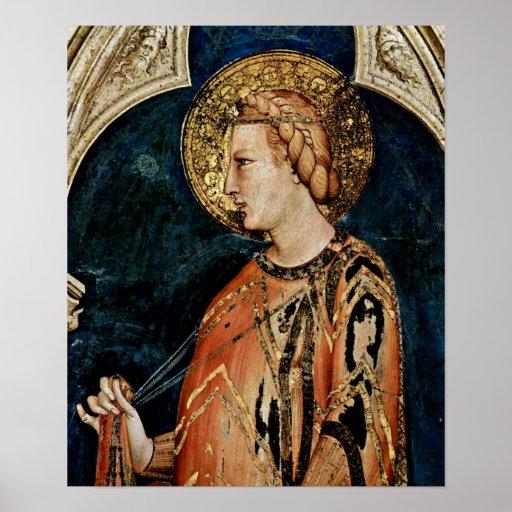 Simone Martini-Elizabeth v. Hungary Print