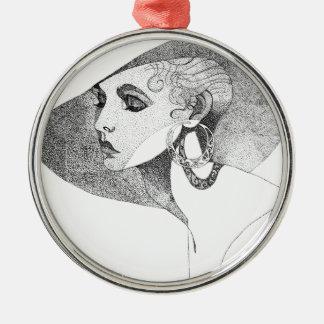 Simone Metal Ornament