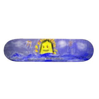 Simone Michalski Custom Skate Board