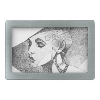 Simone Rectangular Belt Buckle