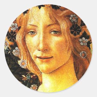 Simonetta Classic Round Sticker
