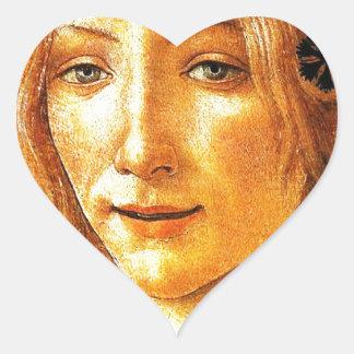Simonetta Heart Sticker