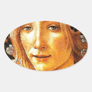 Simonetta Oval Sticker