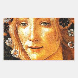 Simonetta Rectangular Sticker