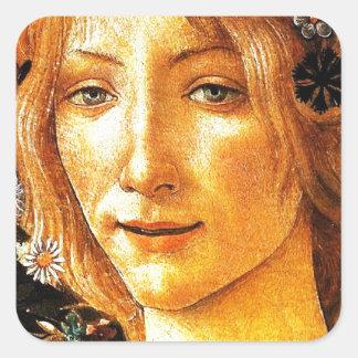 Simonetta Square Sticker