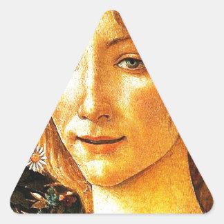 Simonetta Triangle Sticker
