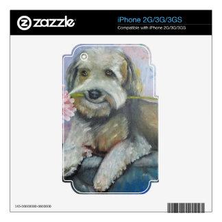 simpatia di un cane.jpg iPhone 2G decal