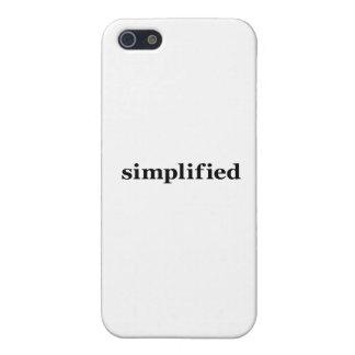 Simpflified iPhone 5 Coberturas