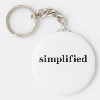 Simpflified Keychain