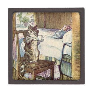 Simpkin el gato sirve el té - Beatrix Potter Cajas De Recuerdo De Calidad