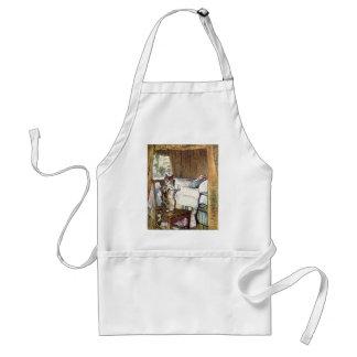 Simpkin el gato sirve el té - Beatrix Potter Delantal