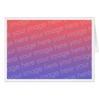Simple 0.2 inch All Around White Border Template Card