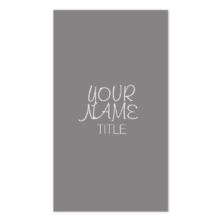 Simple a pulso Titanium Tarjetas De Visita