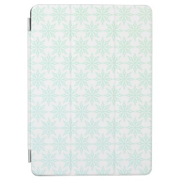 Simple Abstract Floral Snowflakes   iPad Air Case
