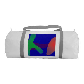 Simple Abstract Irregular Forms Gym Duffle Bag