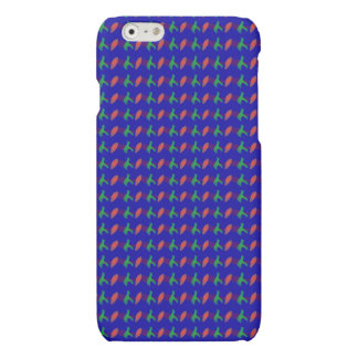 Simple Abstract Irregular Forms Matte iPhone 6 Case