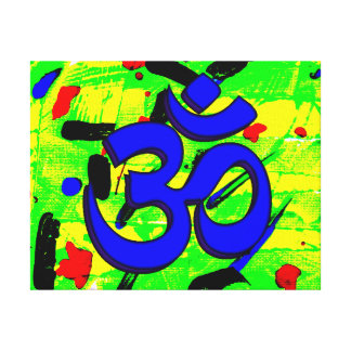 Simple Abstract Third Eye Canvas Print