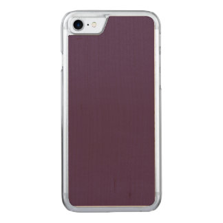 Simple Acai Violet Fashion Trends Solid Color Carved iPhone 8/7 Case