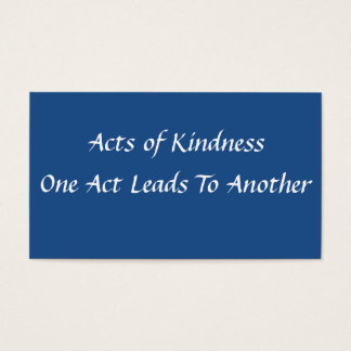 Simple Acts of Kindness Card