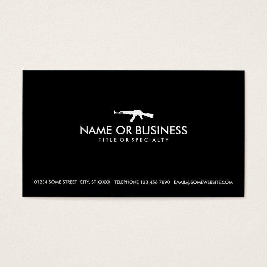 simple ak47 business card