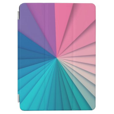 Simple and Elegant Ray of Colors   iPad Air Case