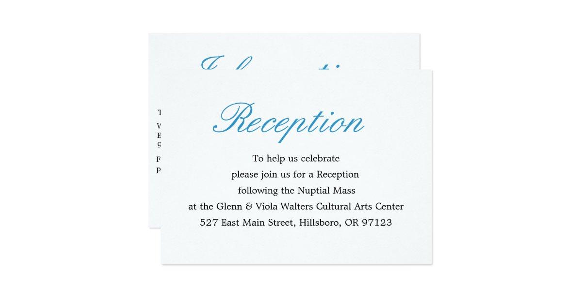 Reception Invitations Announcements – Reception Party Invitations