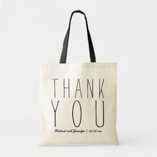 Simple and Elegant Thank You Totes
