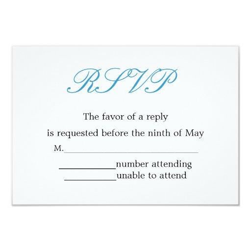 Simple and Elegant Wedding Reception...