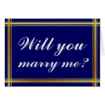 "[ Thumbnail: Simple and Elegant ""Will You Marry Me?"" Card ]"
