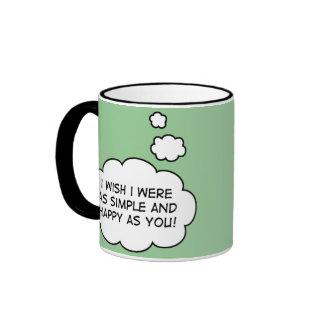 Simple and Happy mug