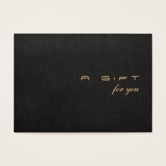 Simple and Modern Gift Certificate
