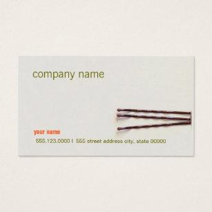 Natural hair business cards templates zazzle simple and natural hair stylist beauty salon business card colourmoves