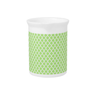 simple and pretty green beverage pitcher