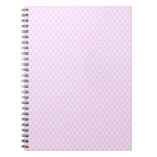 simple and pretty pink notebooks