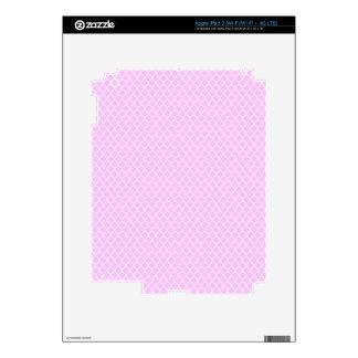 simple and pretty pink iPad 3 skin