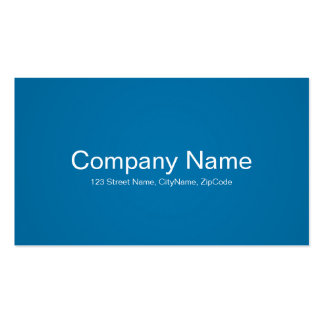 Simple and Professional Blue Business Cards