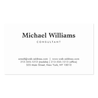 Simple and Professional Business Card Templates