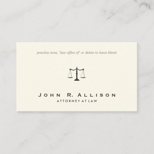 Simple and sophisticated attorney ivory business card zazzle simple and sophisticated attorney ivory business card colourmoves