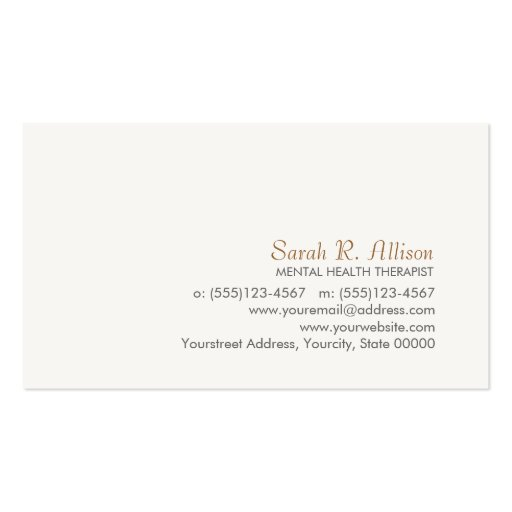 Simple and Sophisticated Business Card