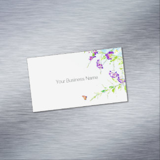Simple and Sweet Business Card Magnet