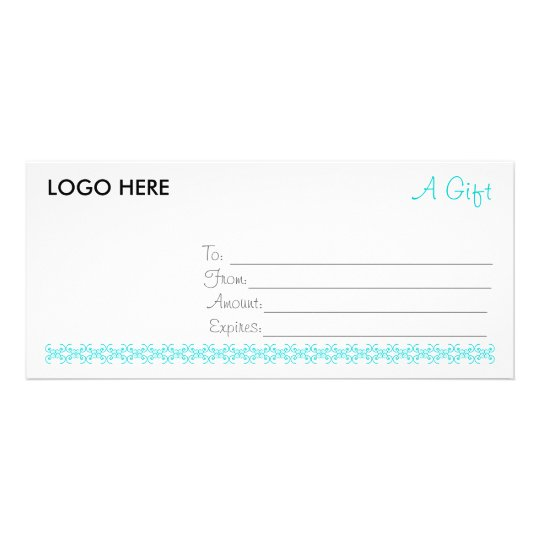 Simple and Sweet Gift Certificate