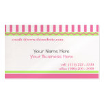 Simple and Sweet/ Pink Double-Sided Standard Business Cards (Pack Of 100)