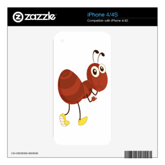 Simple ant skin for iPhone 4