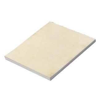 Simple Antique Parchment Notepad