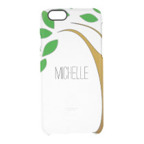 Simple Apple Tree Name Clear Case