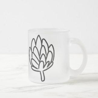 Simple Artichoke drawing Coffee Mugs