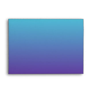 Simple Background Gradient Turquoise Blue Purple Envelope